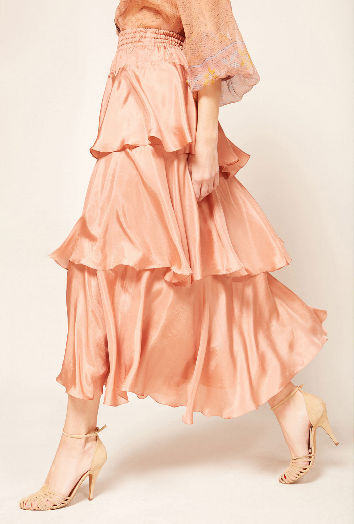 Jupe Rose  Medusa mes demoiselles paris vêtement femme paris
