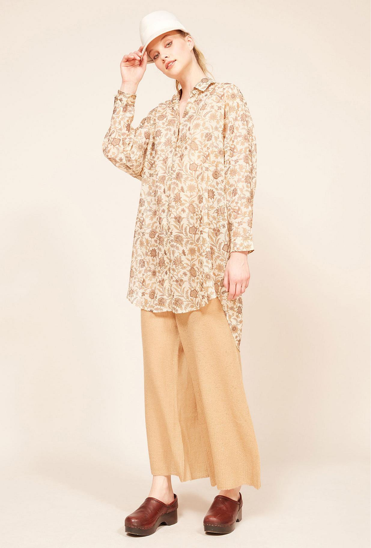 Paris boutique de mode vêtement Chemise créateur bohème  Chrysan