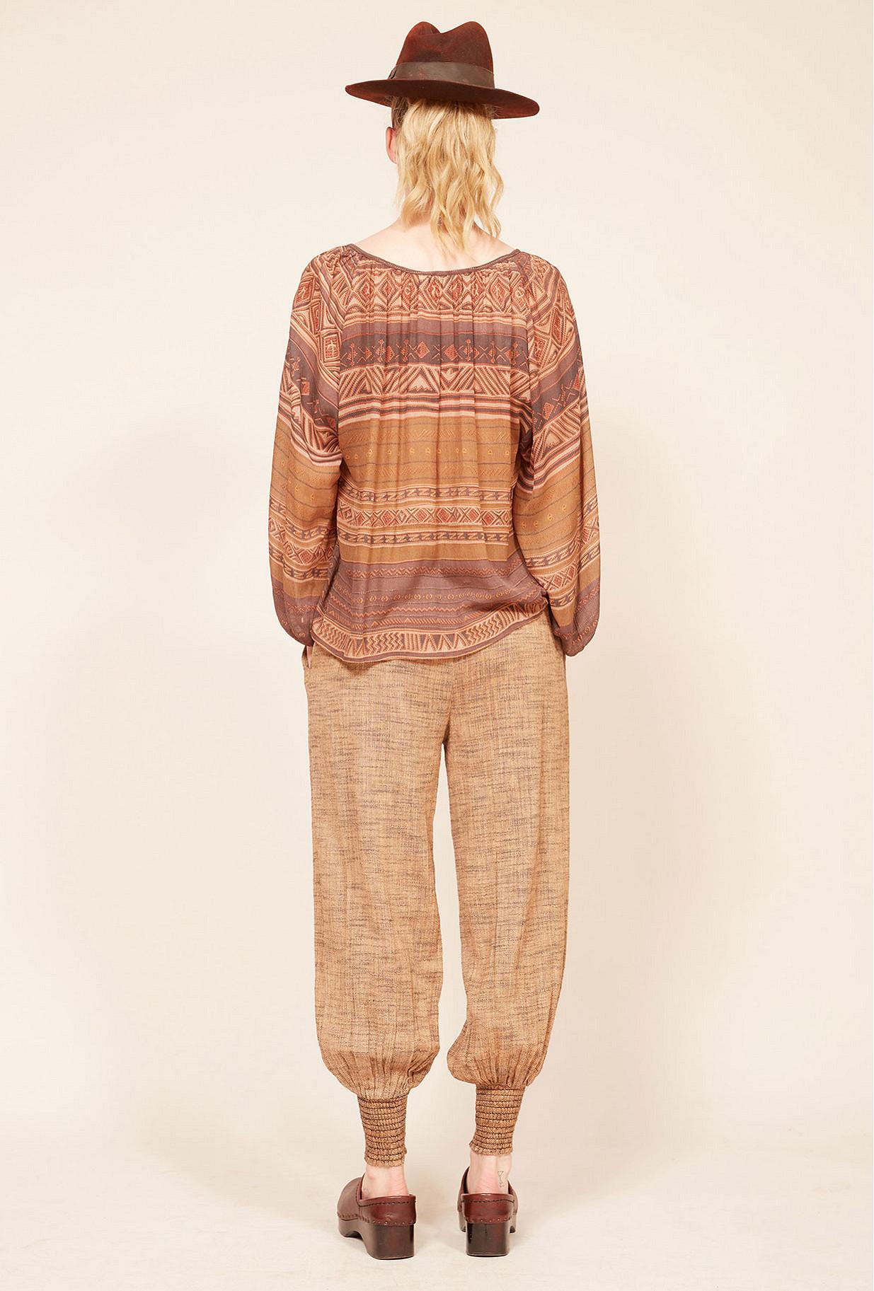 Parma print  Blouse  Cecilia Mes demoiselles fashion clothes designer Paris