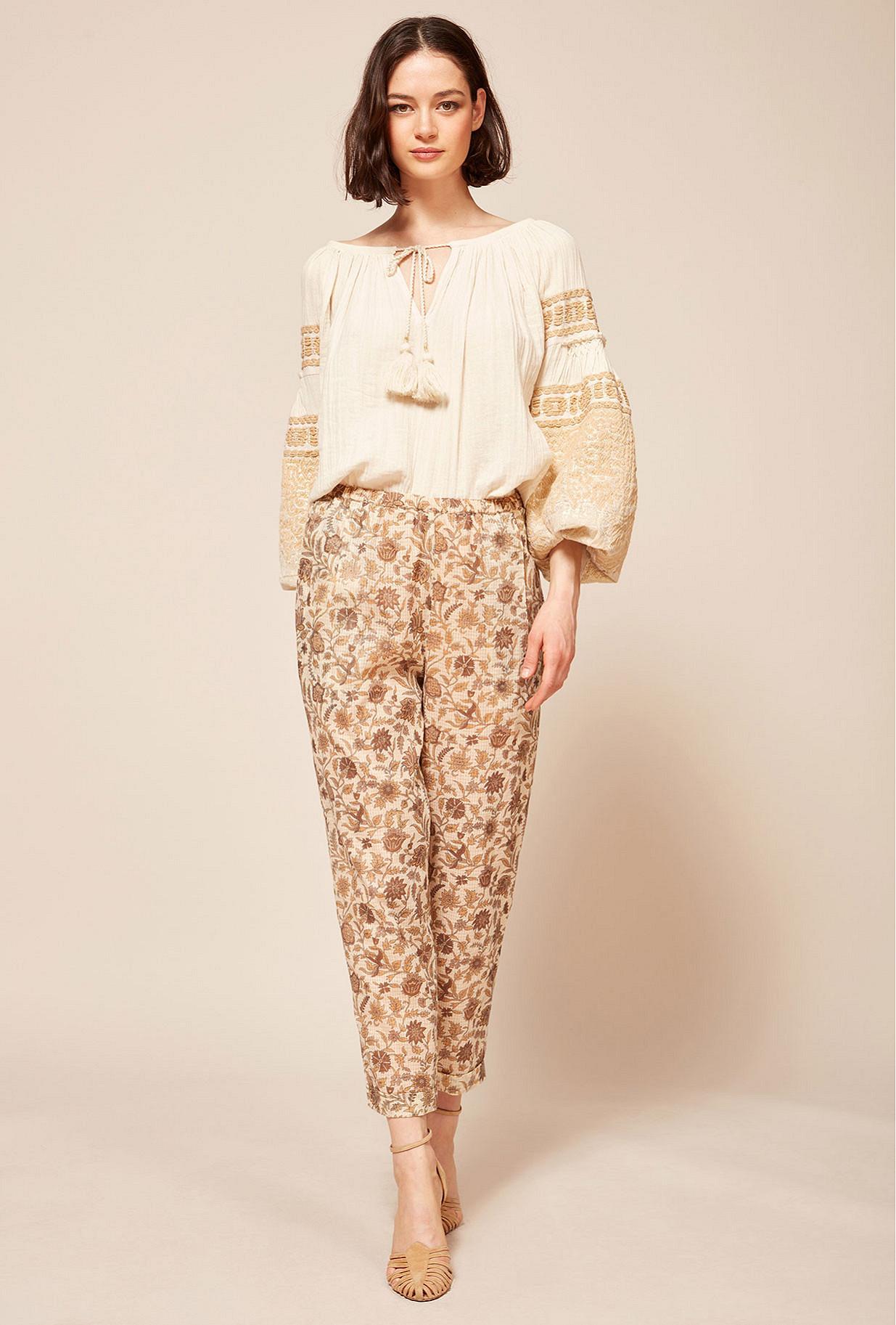 Paris clothes store pant  Calune french designer fashion Paris
