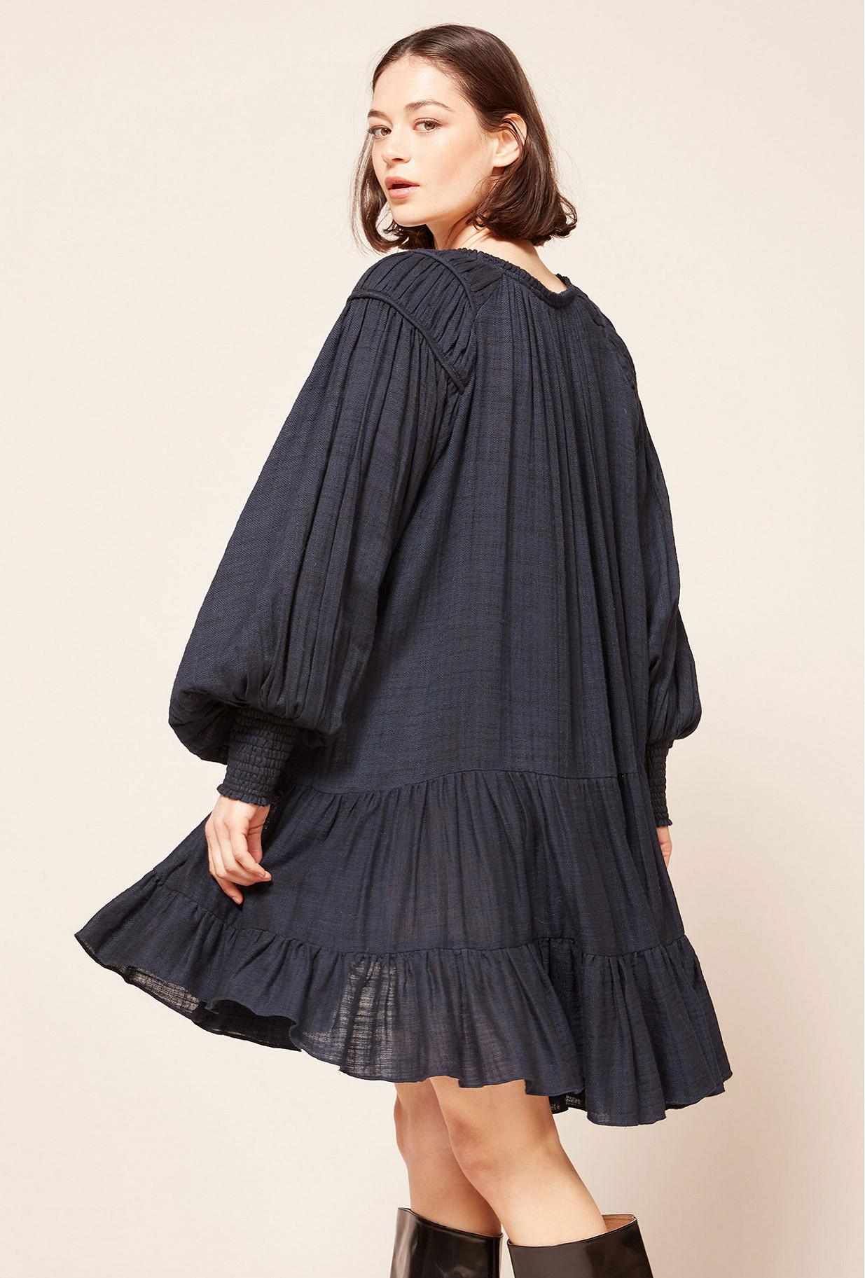 Blue Dress Brigandine