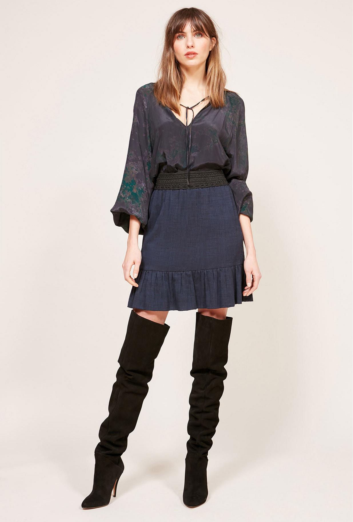 Paris clothes store Skirt  Babko french designer fashion Paris