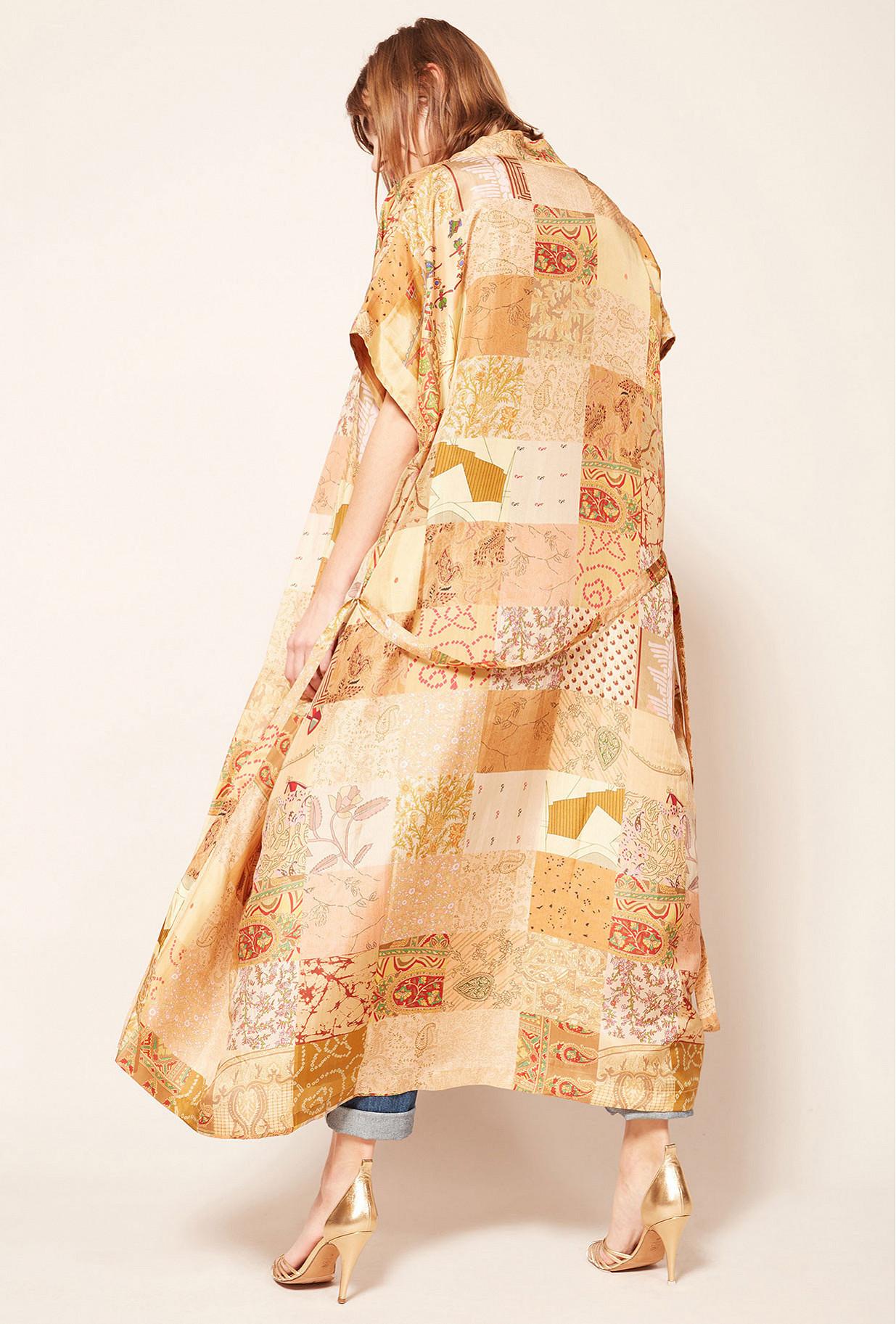 Floral print  Kimono  Pachmina Mes demoiselles fashion clothes designer Paris