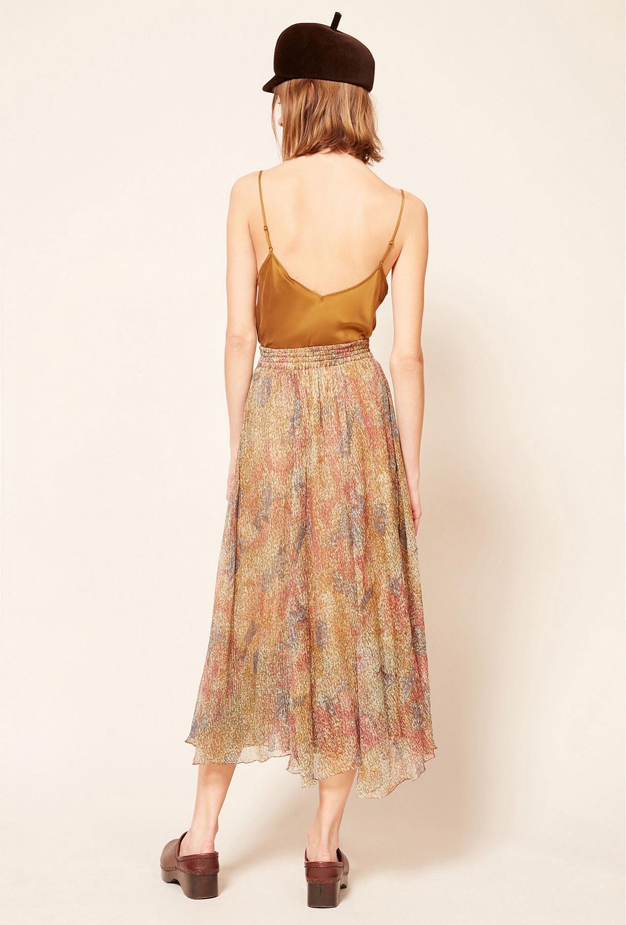 Floral print Skirt Amaranta Mes Demoiselles Paris
