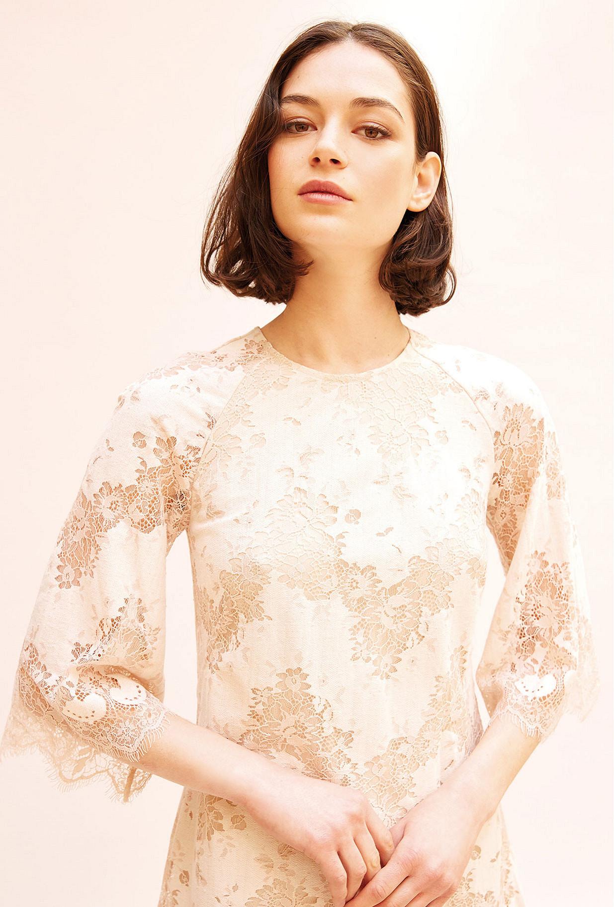 Powder  Dress  Angelique Mes demoiselles fashion clothes designer Paris