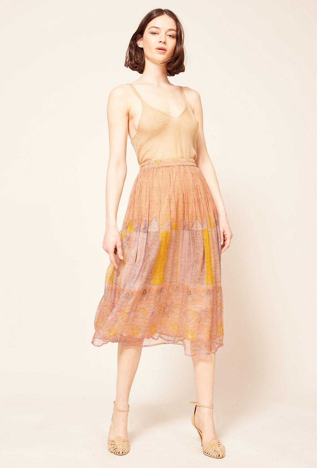 Paris boutique de mode vêtement Jupe créateur bohème Baji