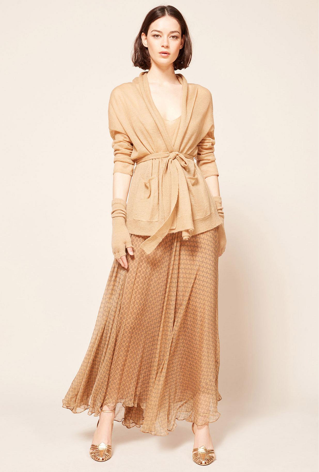 Paris boutique de mode vêtement Cardigan créateur bohème  Saxofon