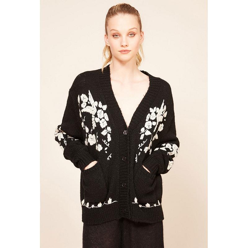 Paris clothes store Cardigan  Botanic french designer fashion Paris