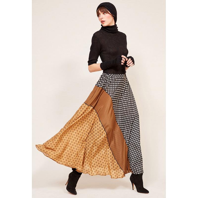 Paris boutique de mode vêtement Jupe créateur bohème  Brakid