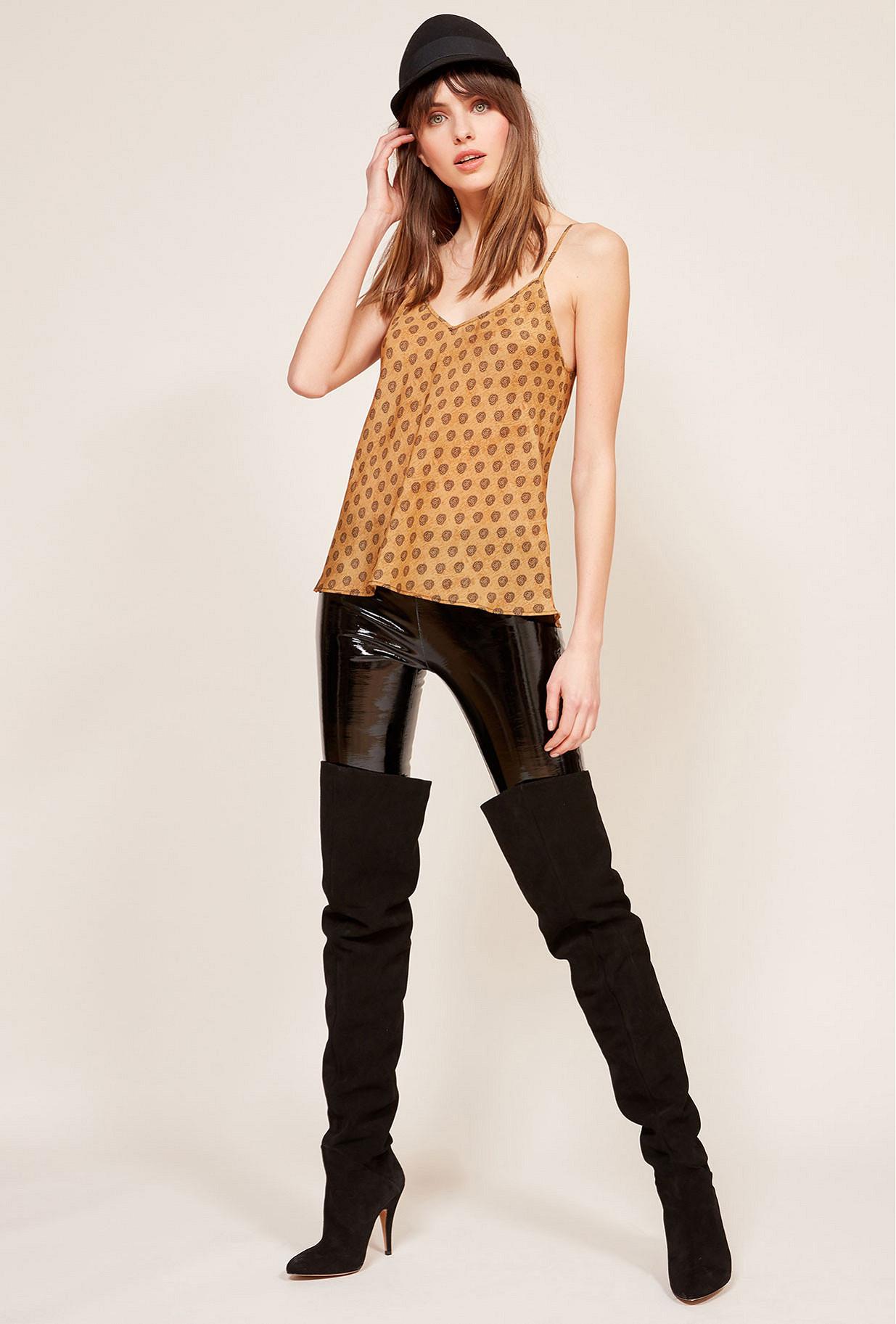 Beige  Top  Branjen Mes demoiselles fashion clothes designer Paris