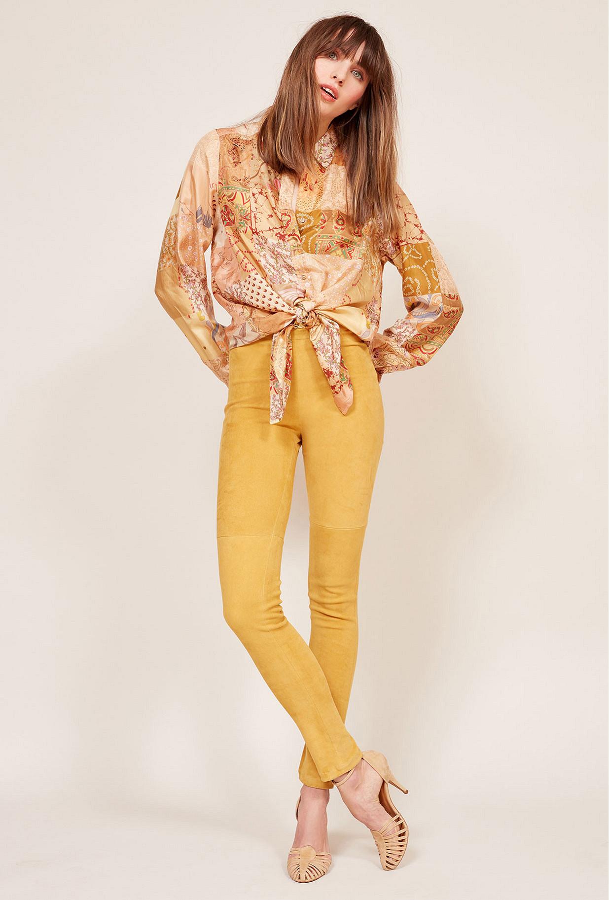 Yellow Legging Esther Mes Demoiselles Paris