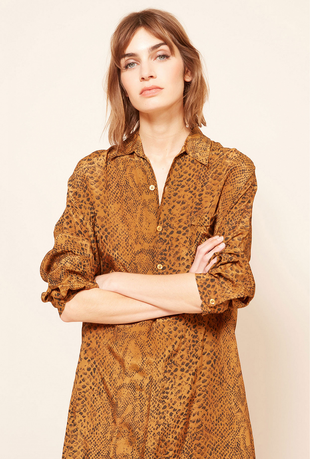 Paris clothes store Shirt  Kaa french designer fashion Paris