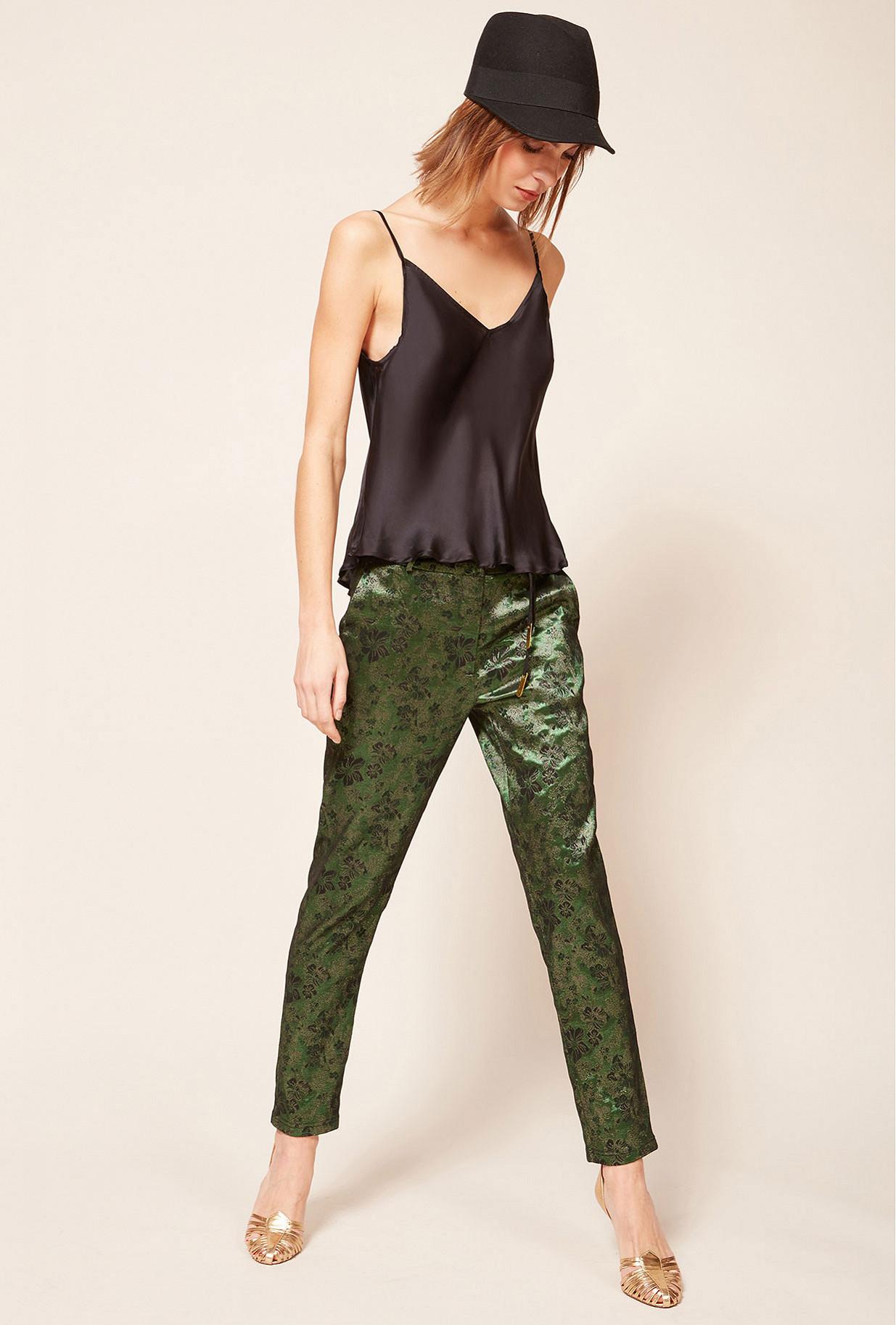 Black  Top  Leop Mes demoiselles fashion clothes designer Paris