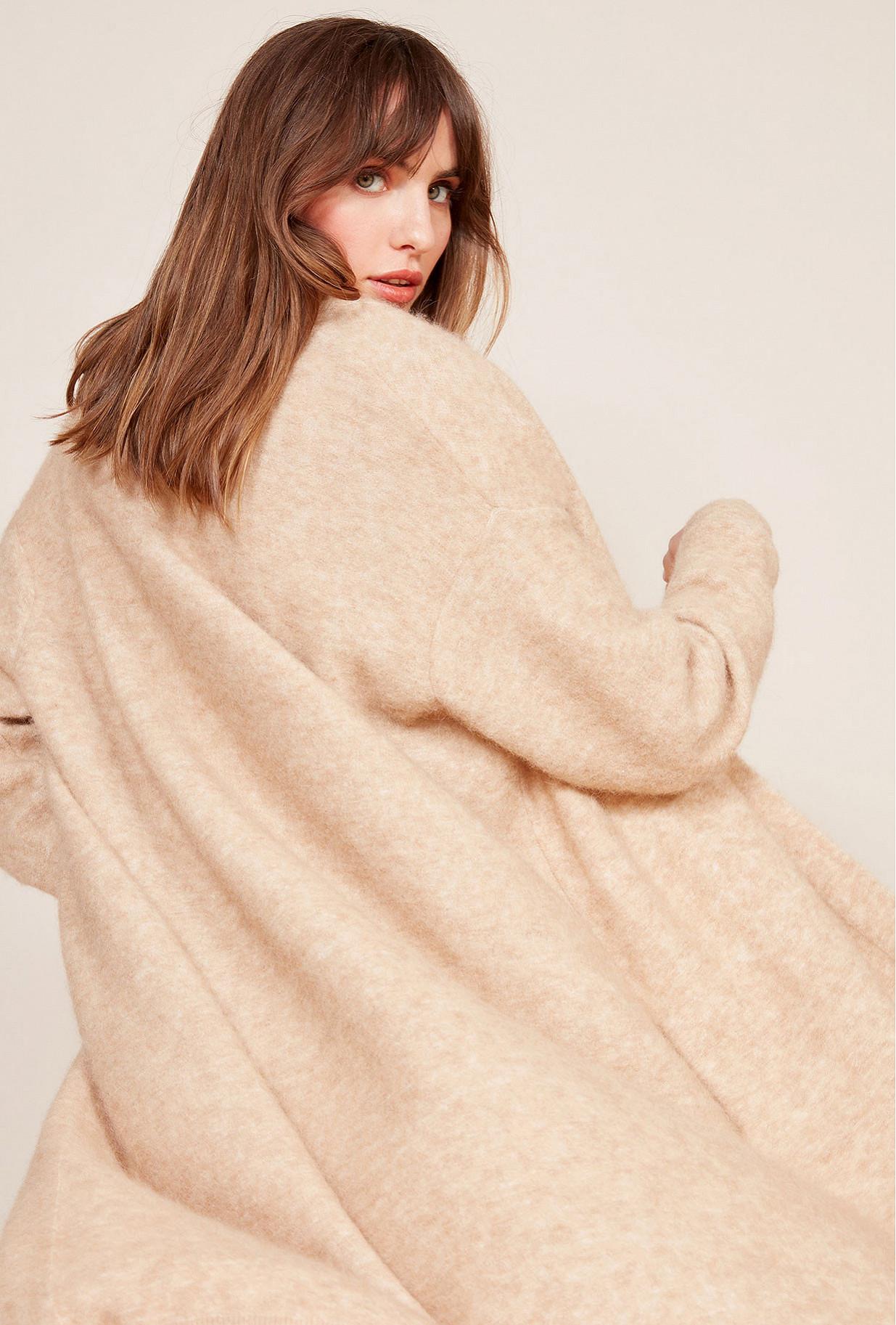 Beige  Cardigan  Neri Mes demoiselles fashion clothes designer Paris