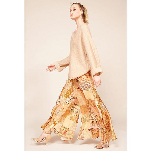 Pantalon Combo beige Pachamama