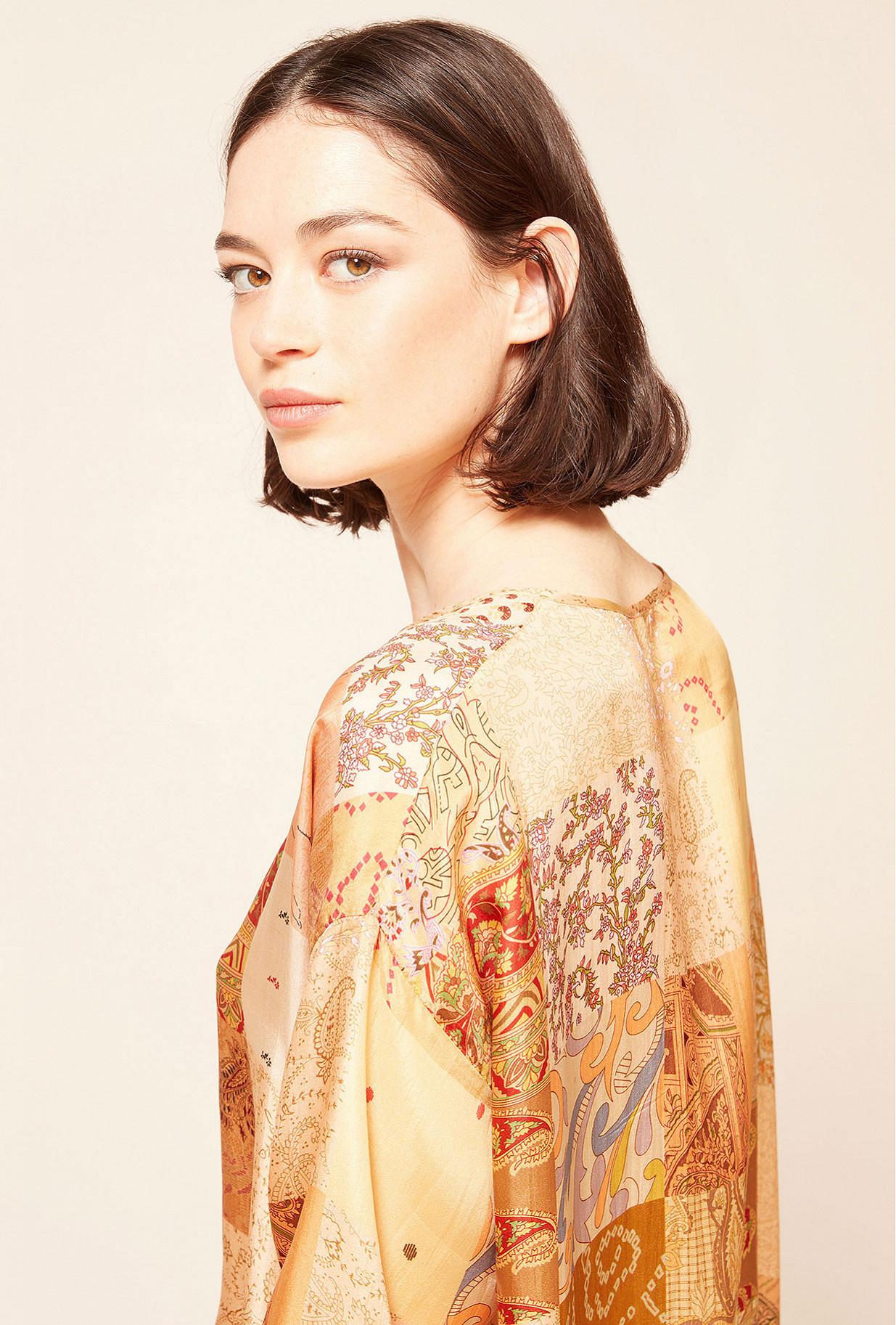 Paris boutique de mode vêtement Blouse créateur bohème Pachtou