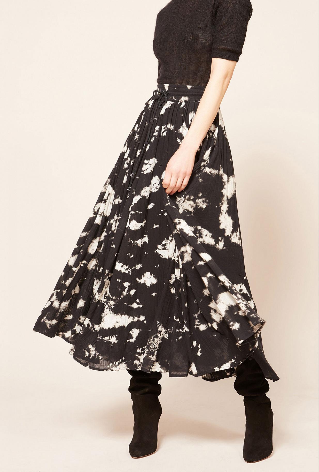 Paris boutique de mode vêtement Jupe créateur bohème  Pink