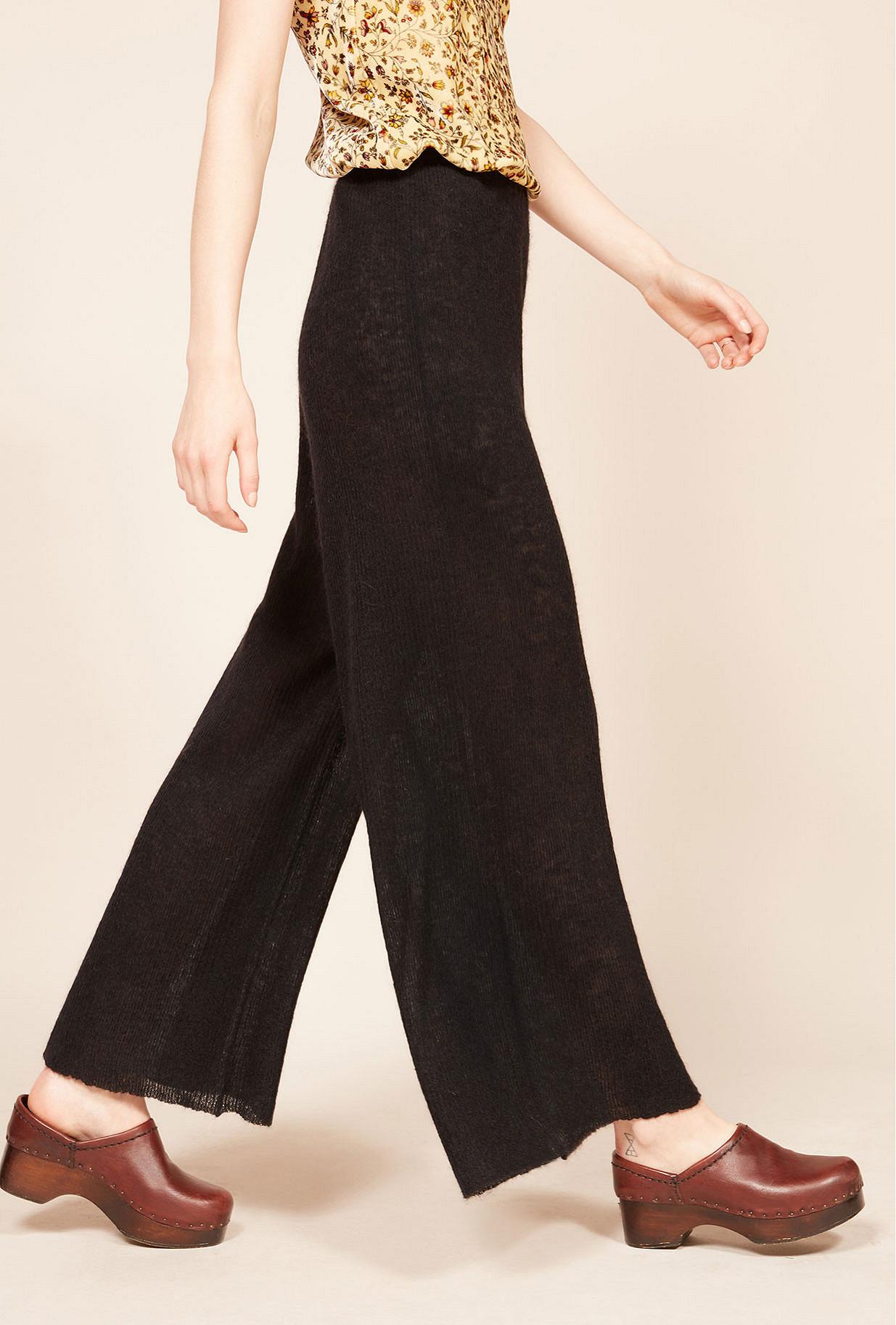 Pantalon Noir  Shaggy mes demoiselles paris vêtement femme paris
