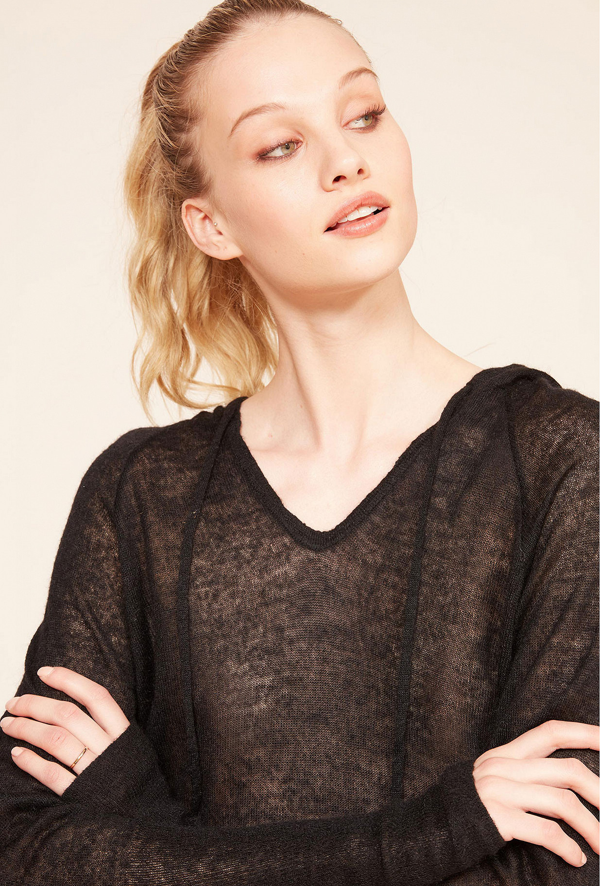 Black Sweater Shoshana