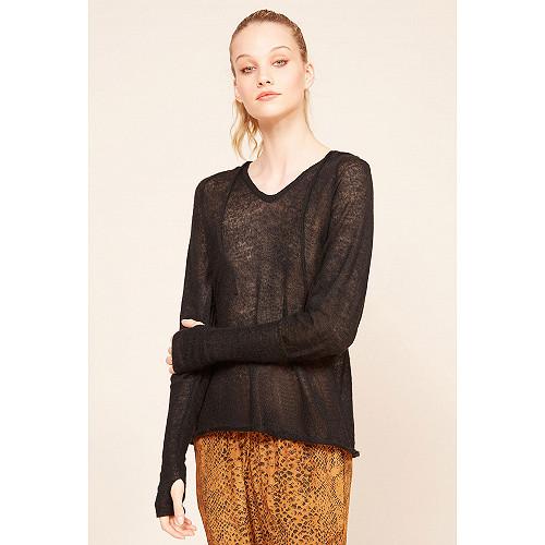 Pull Noir hiver pour femme | Modèle Storm |Site de mode femme