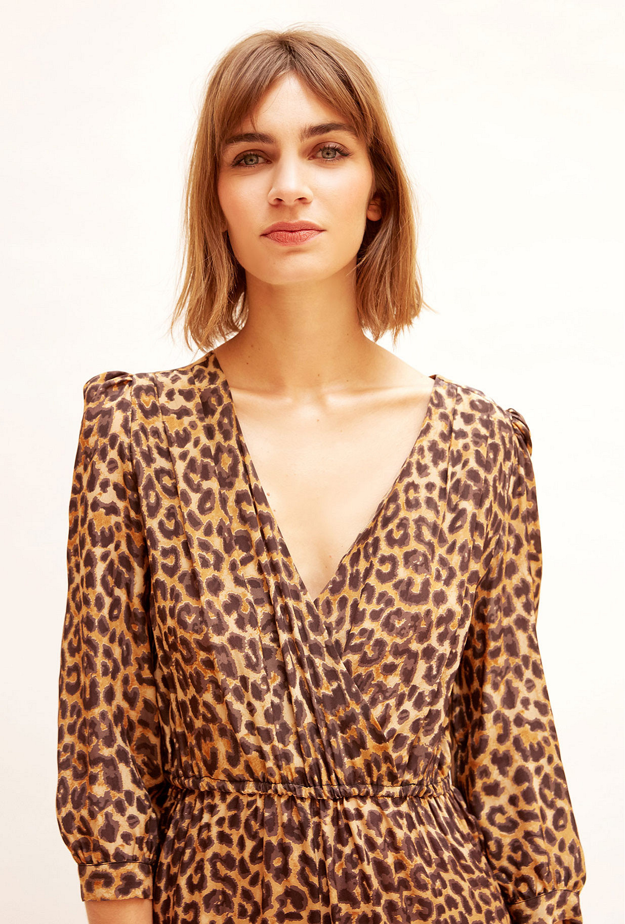 Panther print  Jumpsuit  Slash Mes demoiselles fashion clothes designer Paris