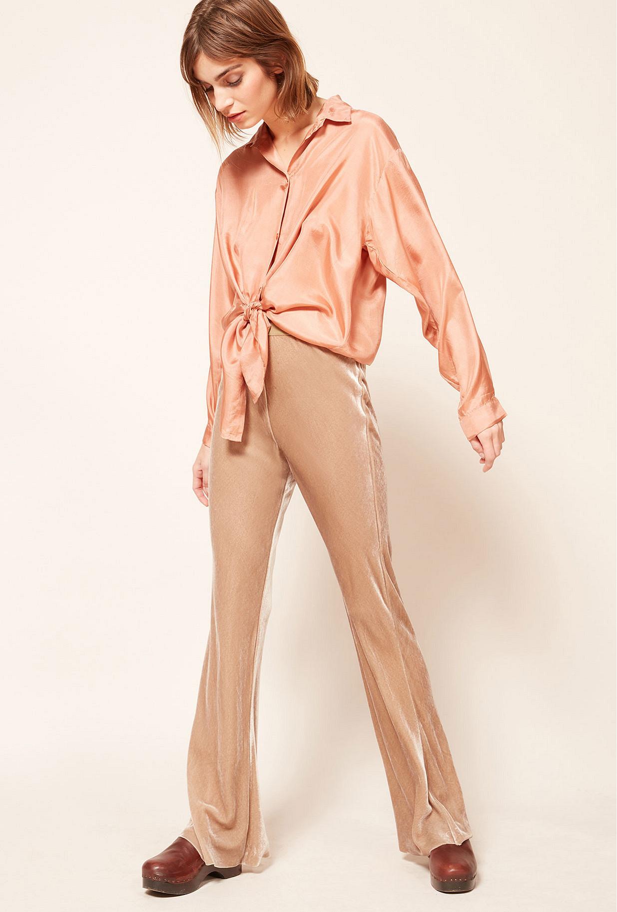 Pantalon Gris  Slither mes demoiselles paris vêtement femme paris