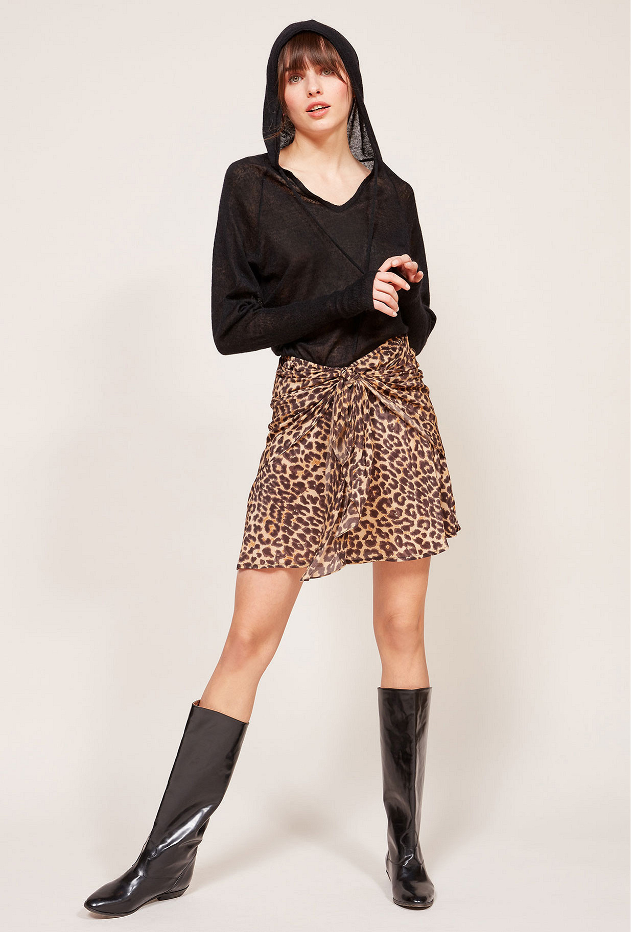 Panther print Skirt Springsteen