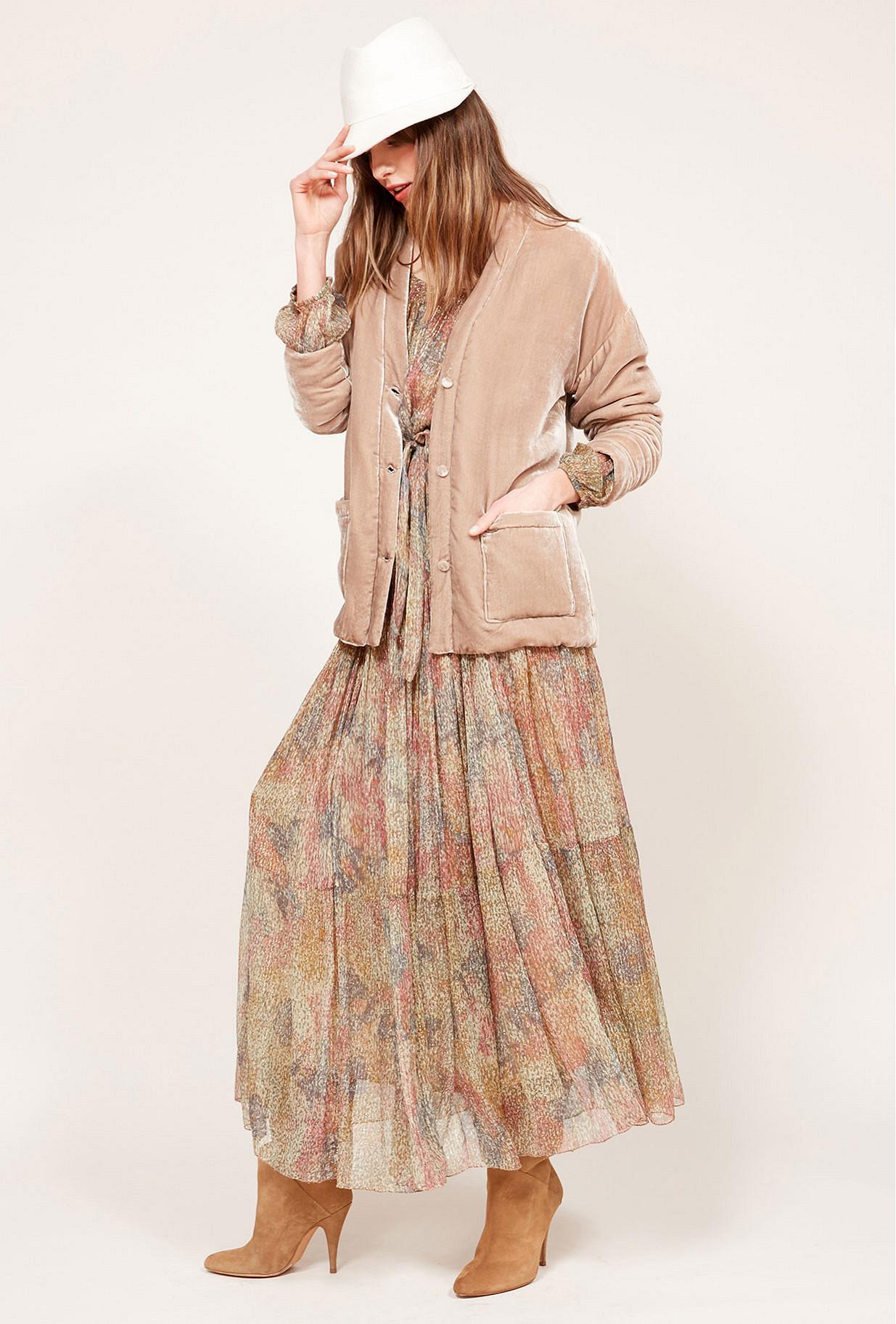 Grey  Jacket  Sucker Mes demoiselles fashion clothes designer Paris