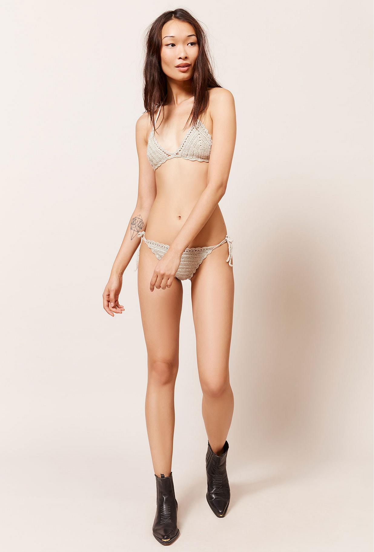 Bikini Argenté Cricri Mes Demoiselles Paris