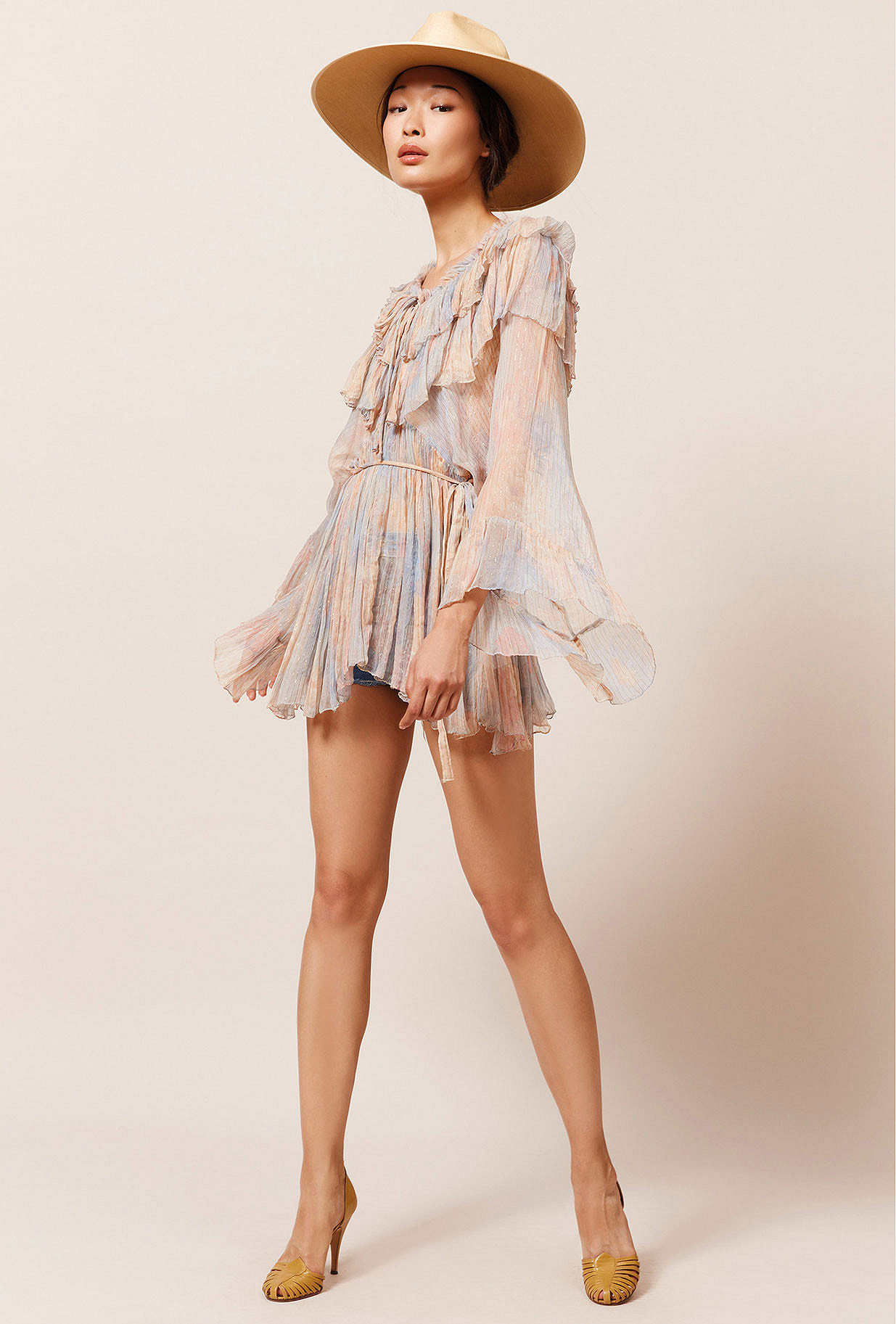 Paris clothes store Blouse  Pivoine french designer fashion Paris
