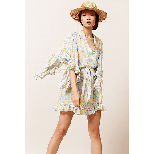 Floral print  Kimono  Sally Mes demoiselles fashion clothes designer Paris