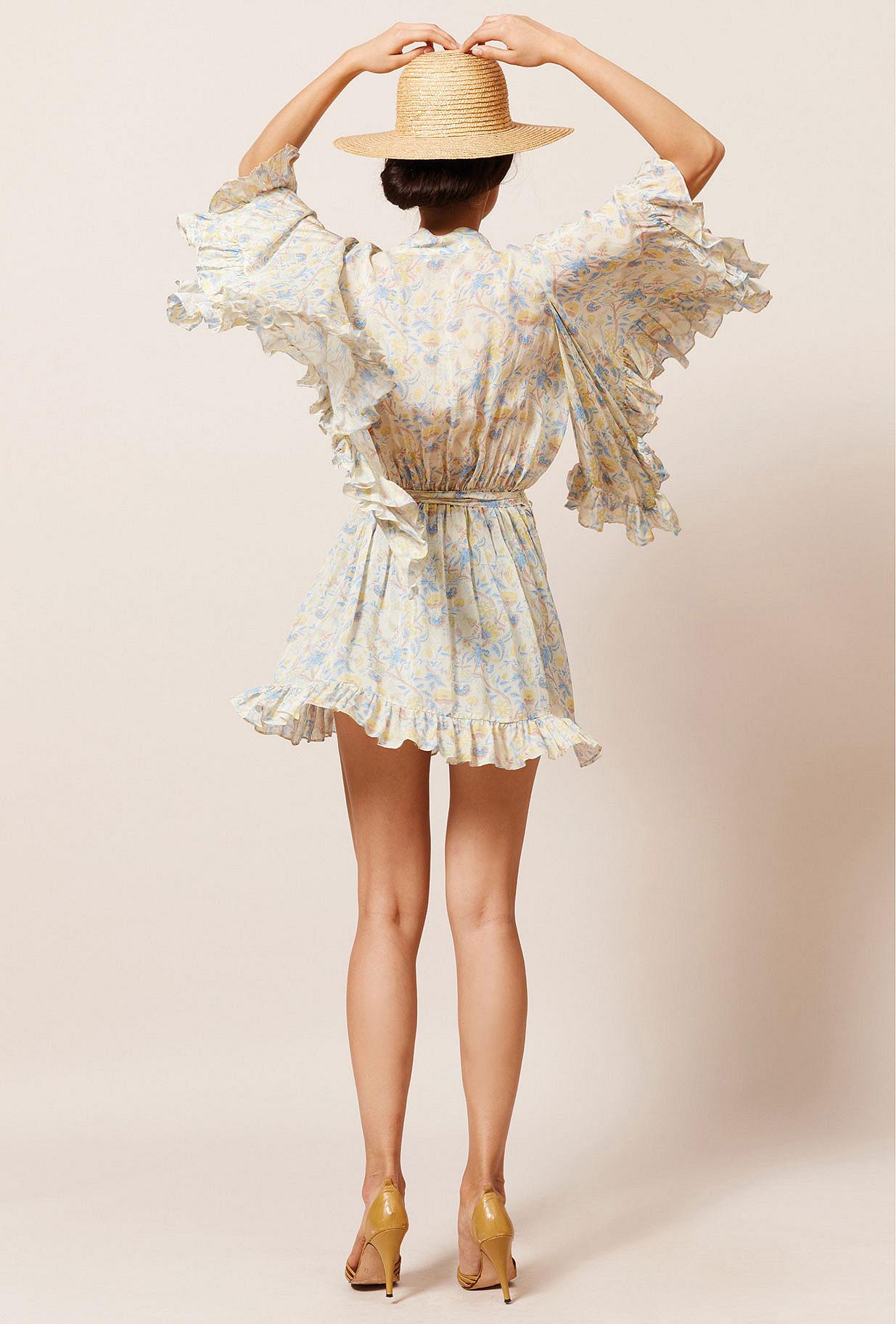 Kimono Imprimé fleuri Sally Mes Demoiselles Paris