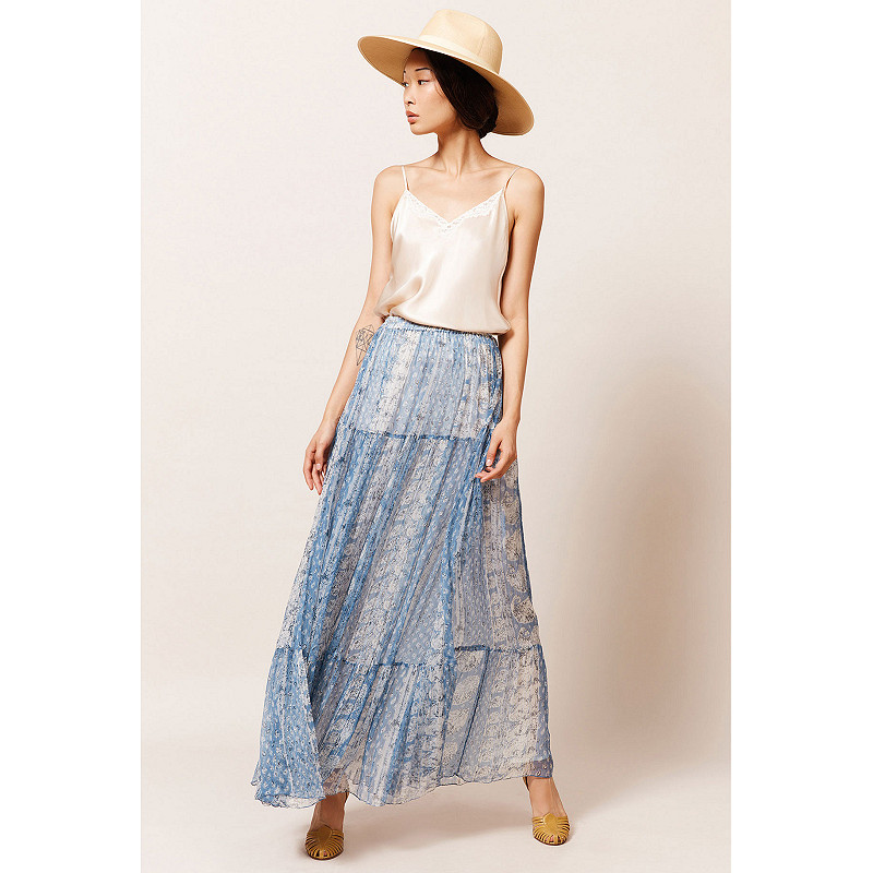 Paris clothes store Skirt  Buenavista french designer fashion Paris