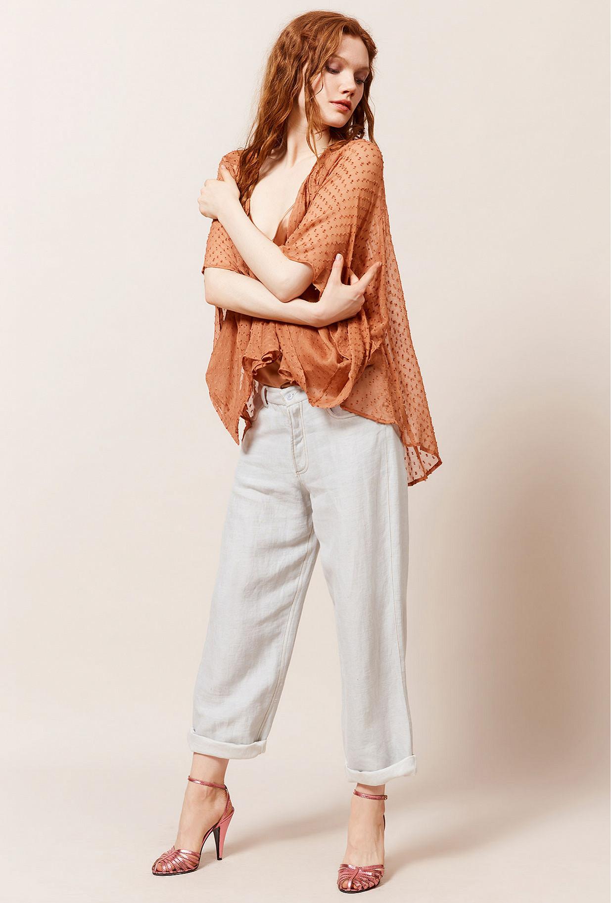 Kimono Terracotta  Dionysos mes demoiselles paris vêtement femme paris