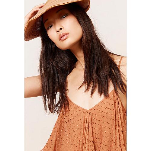 Terracotta  Top  Daphine Mes demoiselles fashion clothes designer Paris