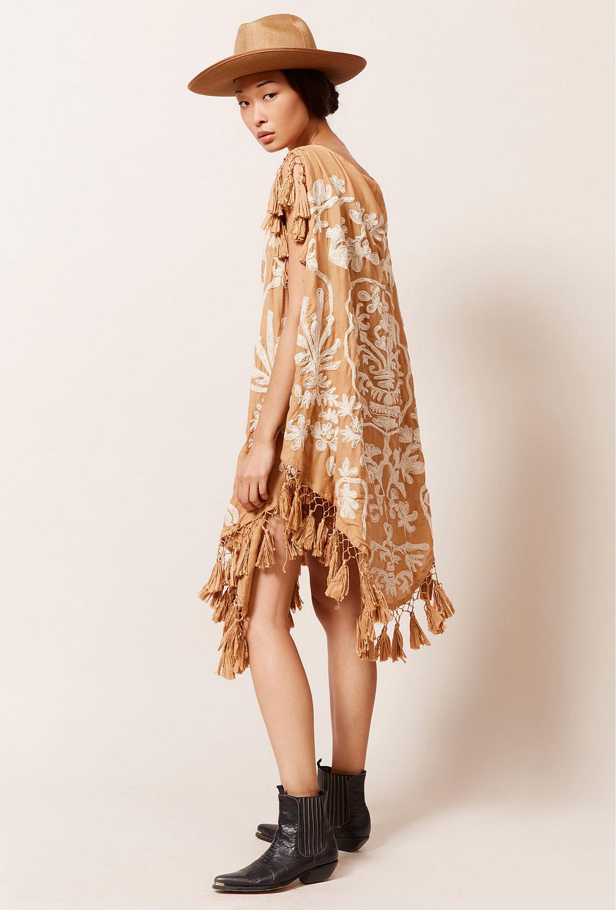 Sand  Poncho  Bora-bora Mes demoiselles fashion clothes designer Paris