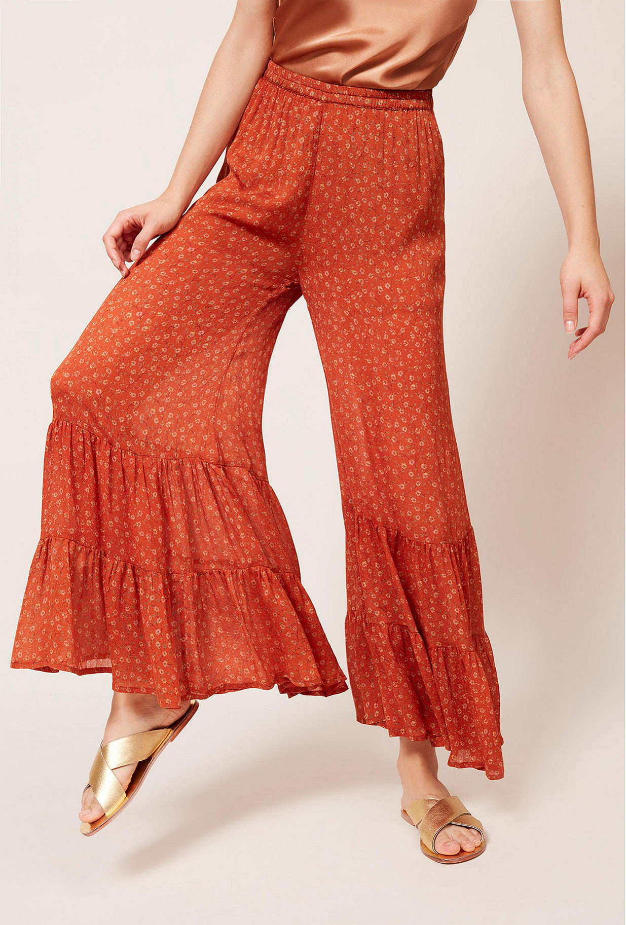 Pantalon Orange Fanfan Mes Demoiselles Paris