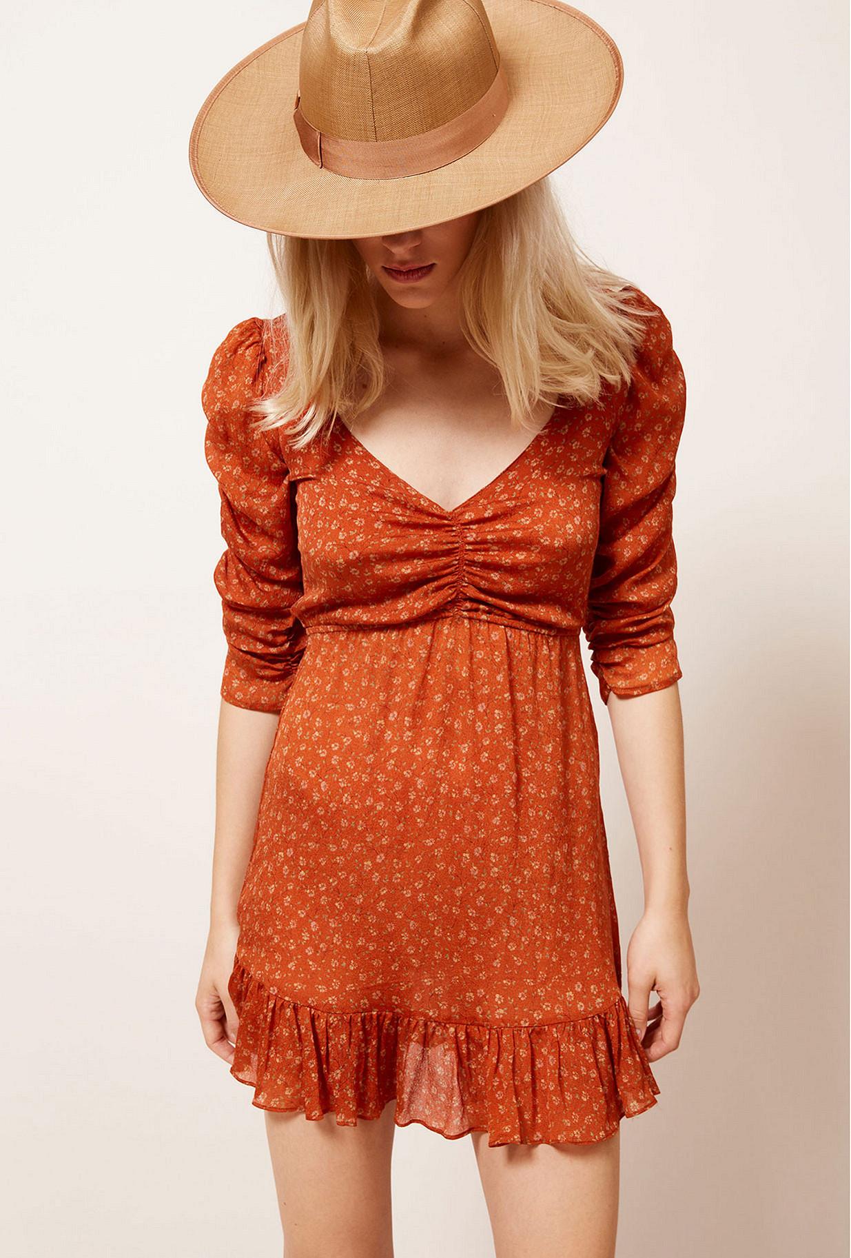 Orange Dress Francesca