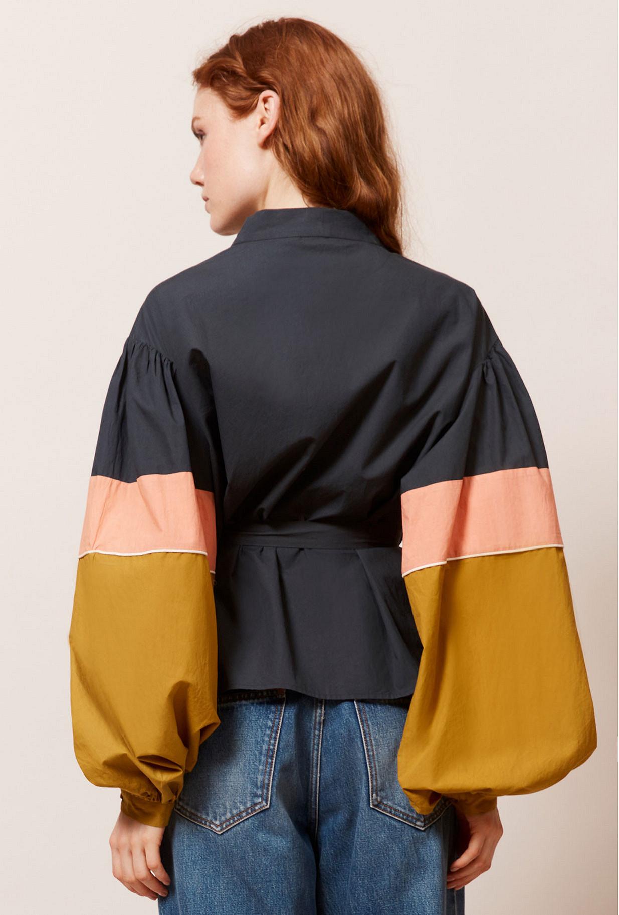 Black  Kimono  Protis Mes demoiselles fashion clothes designer Paris