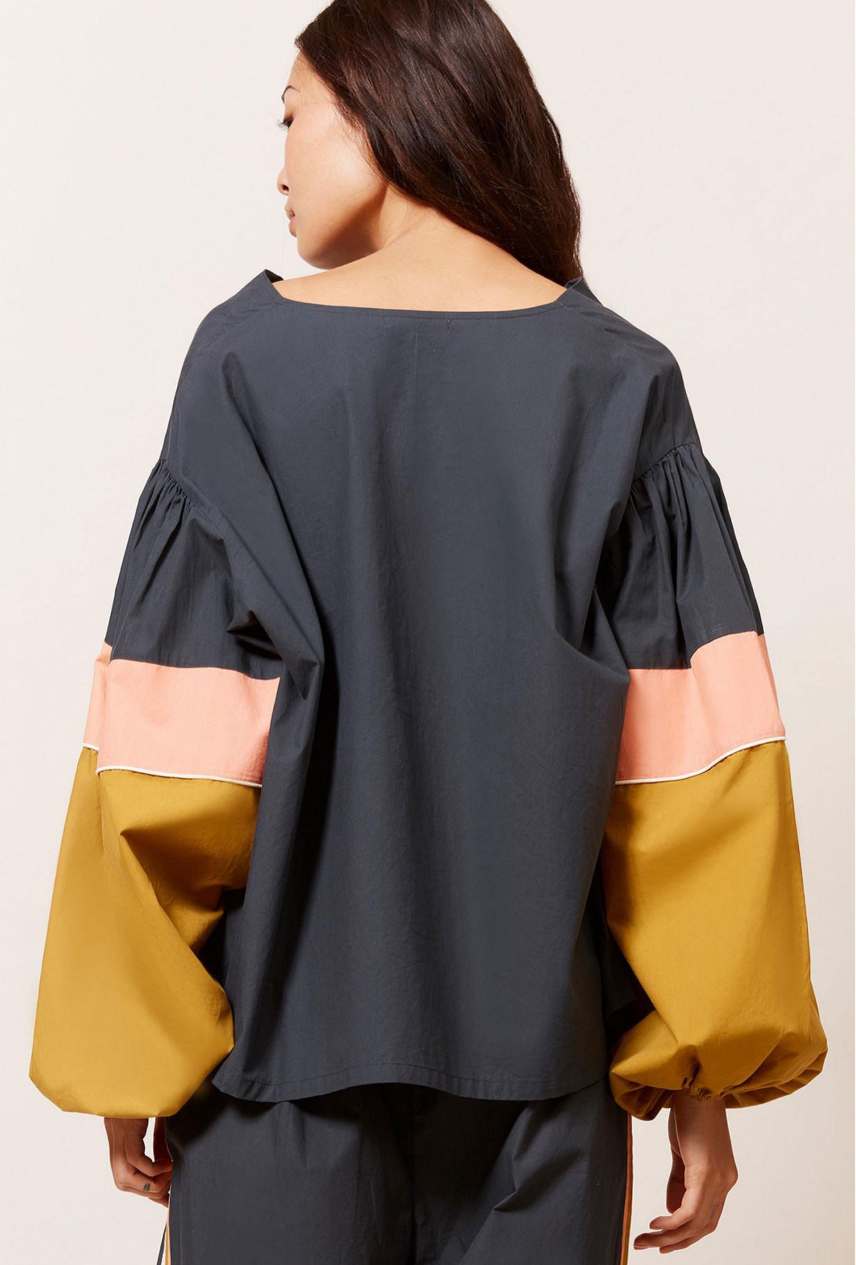 Blouse Noir  Priam mes demoiselles paris vêtement femme paris