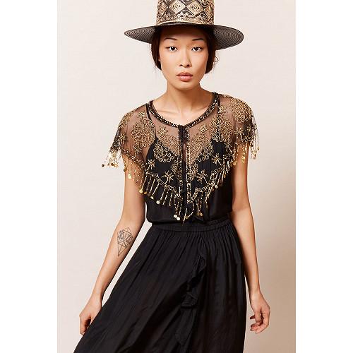 Black  Top  Lolafabe Mes demoiselles fashion clothes designer Paris