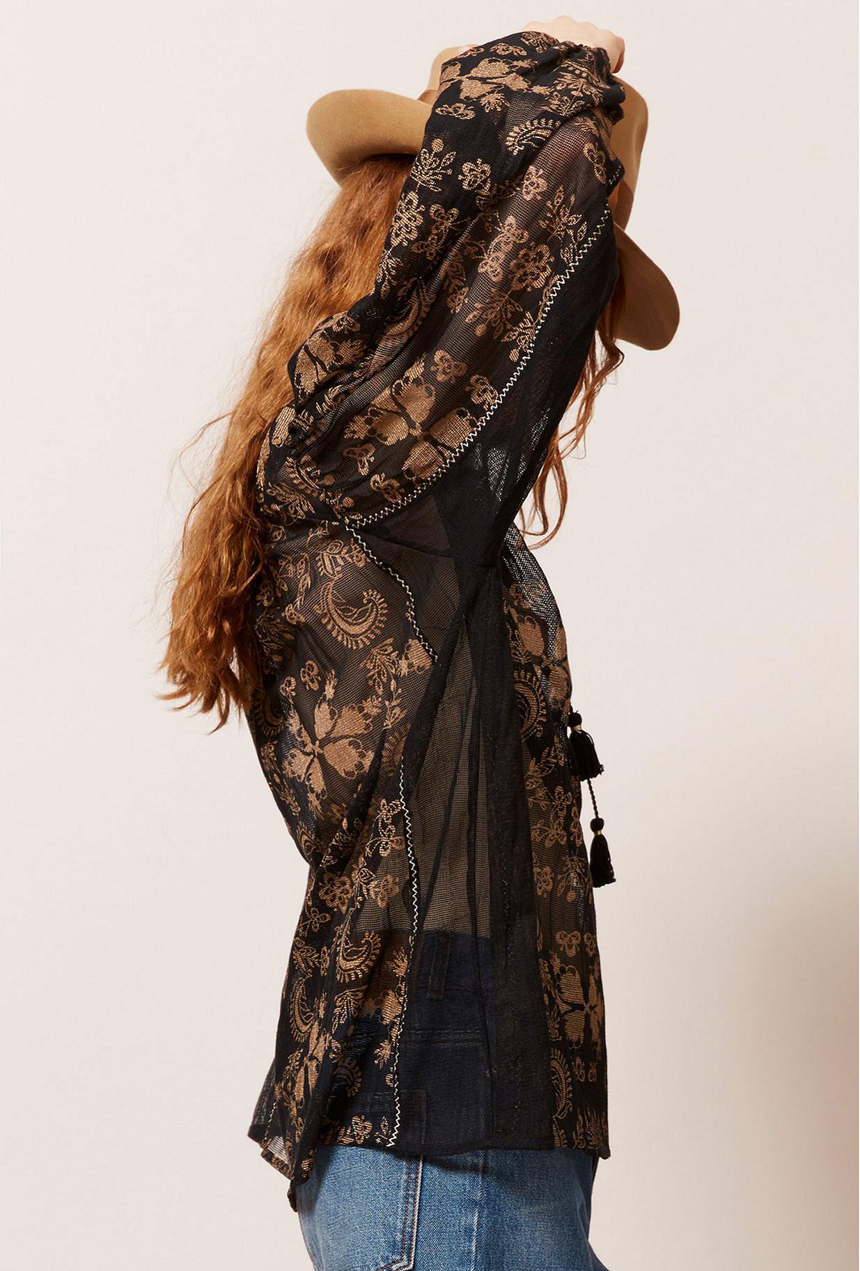 Blouse Noir  Atlante mes demoiselles paris vêtement femme paris