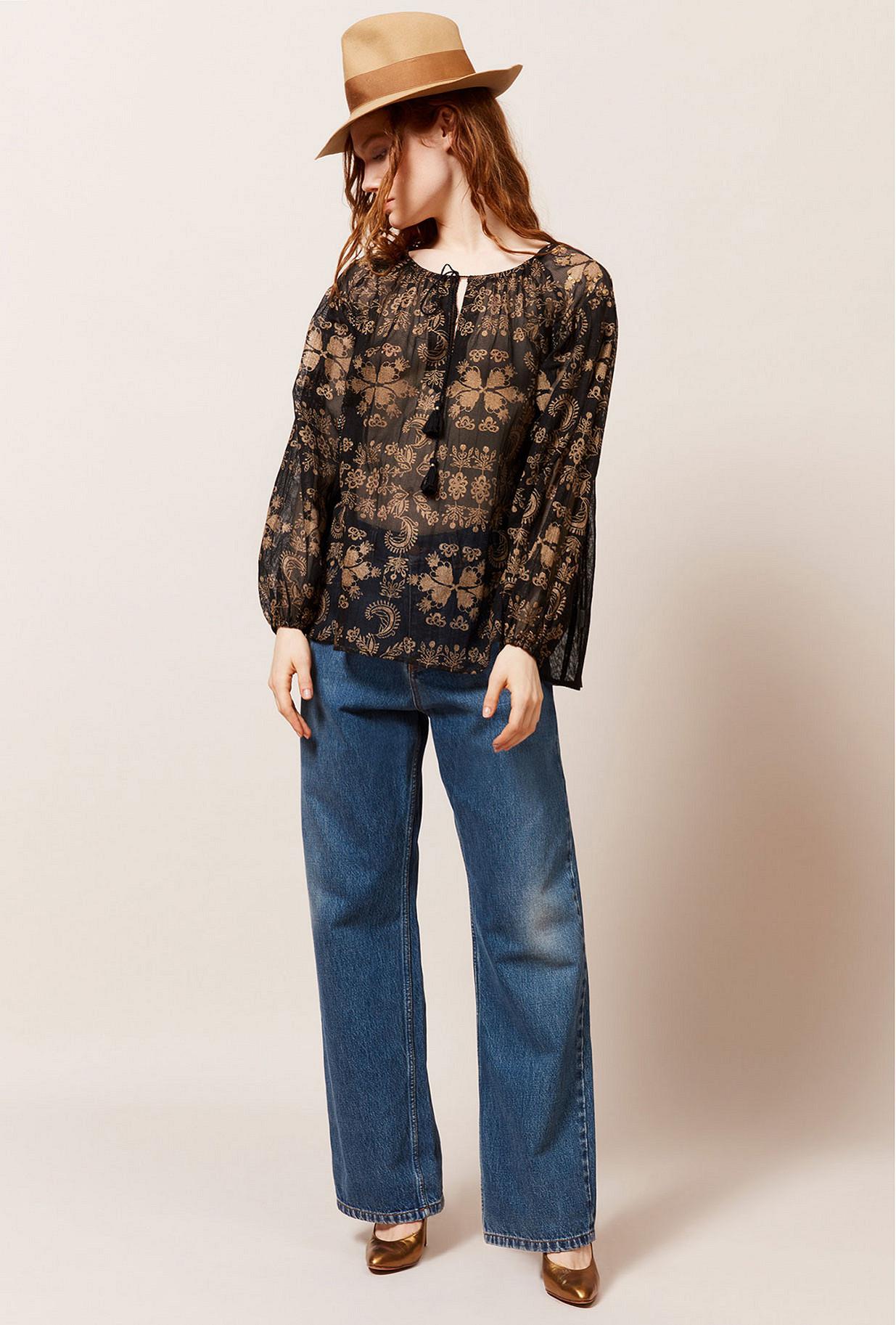 Paris clothes store Blouse Atlante french designer fashion Paris