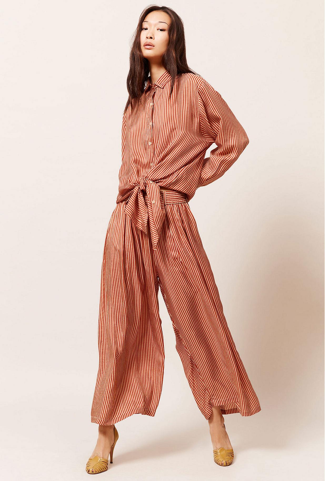 Paris boutique de mode vêtement Pantalon créateur bohème Barnet
