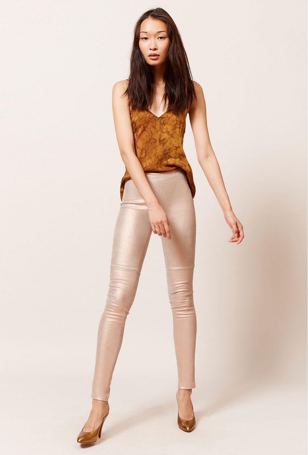 Paris clothes store Legging Esther french designer fashion Paris