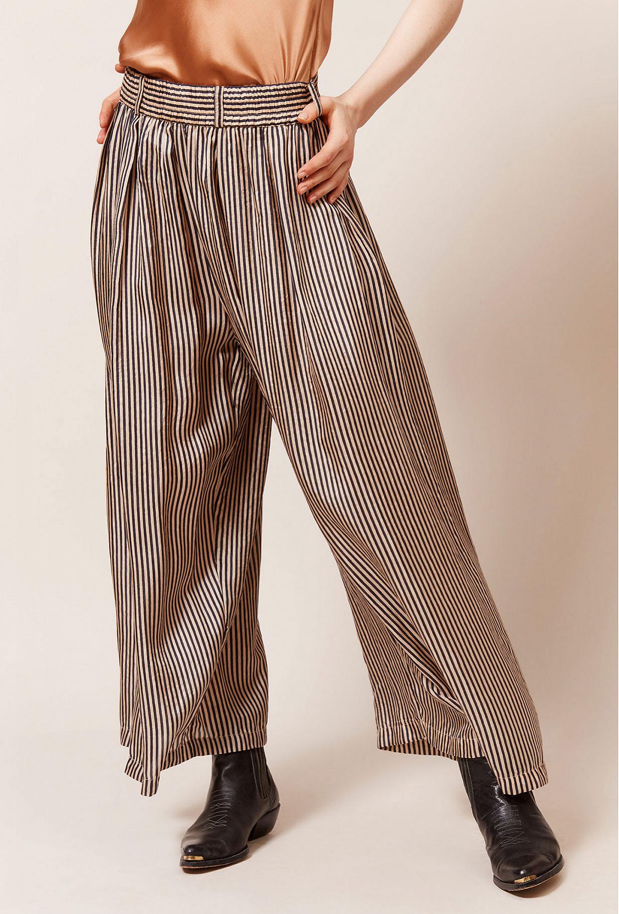 Black stripe  Pant  Barnet Mes demoiselles fashion clothes designer Paris