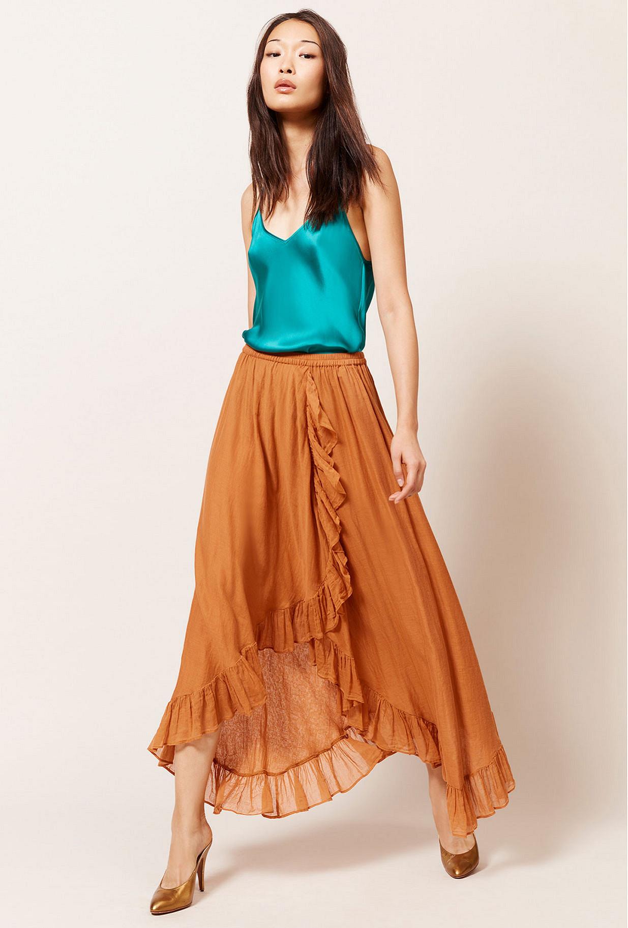 Paris boutique de mode vêtement Jupe créateur bohème  Otello