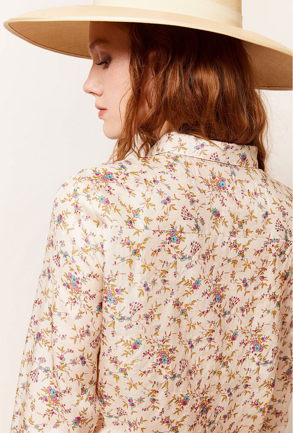 Floral print Shirt Georgio Mes Demoiselles Paris