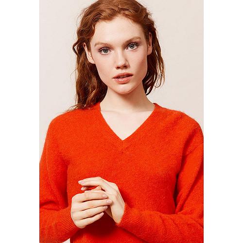 Coral Sweater Palenque Mes Demoiselles Paris