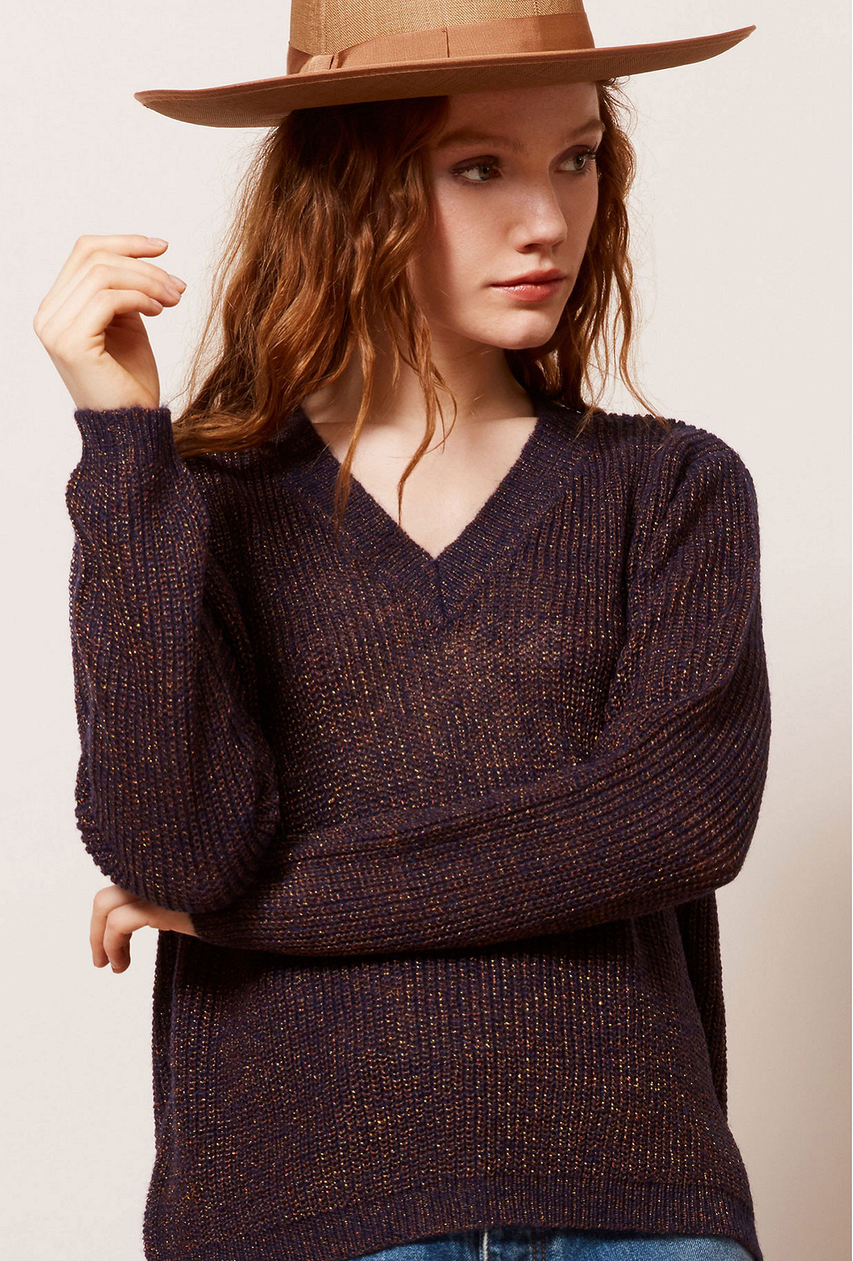 Night blue Sweater Scorcese